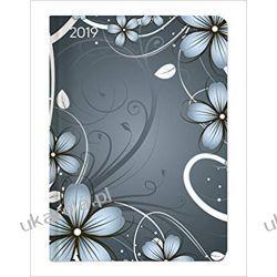 Kalendarz książkowy Ladytimer Blue Blossoms 2019 calendar