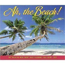 Kalendarz biurkowy Ah, the Beach! 2019 Calendar
