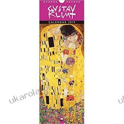 Kalendarz Gustav Klimt slim calendar 2019 Kalendarze ścienne