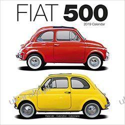 Kalendarz Fiat 500 Calendar 2019 Kalendarze ścienne