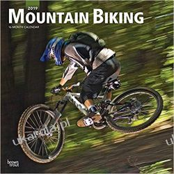 Kalendarz Mountain Biking 2019 Square Wall Calendar