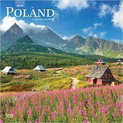 Kalendarz Polska Poland 2019 Square Wall Calendar