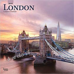 Kalendarz Londyn London 2019 Square Wall Calendar