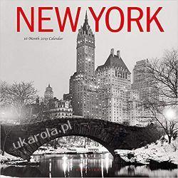 Kalendarz Nowy Jork New York 2019 Square Wall Calendar
