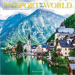 Kalendarz Passport to the World 2019 Square Wall Calendar