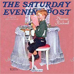 Kalendarz The Saturday Evening Post 2019 Calendar
