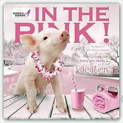 Kalendarz In the Pink! 2019 Calendar