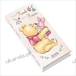 Kalendarz Kubuś Puchatek Winnie The Pooh Official 2019 Pocket Diary