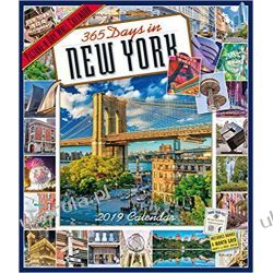 Kalendarz Nowy Jork 2019 365 Days in New York Picture-A-Day Wall Calendar