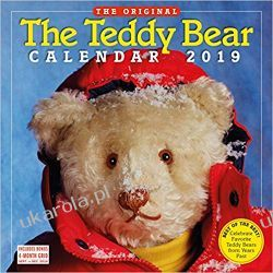 Kalendarz Misie 2019 the Teddy Bear Calendar Wall Calendar