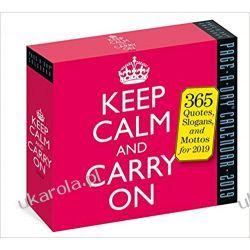 Kalendarz Biurkowy Keep Calm and Carry on Page-A-Day Calendar 2019