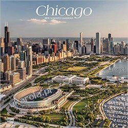 Kalendarz USA Chicago 2019 Calendar