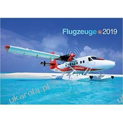Kalendarz Airplanes 2019 Aviation Calendar samoloty Pozostałe
