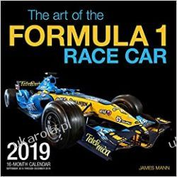 Kalendarz The Art of the Formula 1 Race Car 2019 Calendar F1