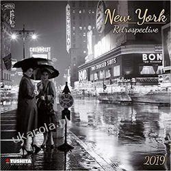 Kalendarz New York Retrospective 2019 Calendar