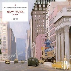 Kalendarz New York in Art 2019 Wall Calendar