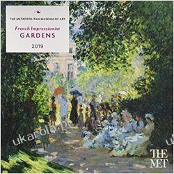 Kalendarz French Impressionist Gardens 2019 Wall Calendar Urządzanie i dekorowanie