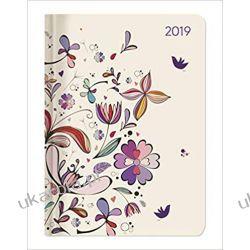 Kalendarz książkowy Ladytimer Flower Art 2019 Calendar