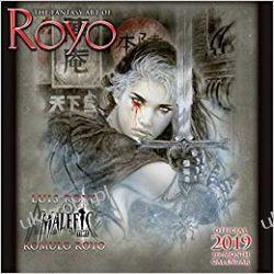 Kalendarz 2019 the Fantasy Art of Royo 16-Month Wall Calendar Kalendarze ścienne