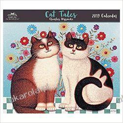 Kalendarz Charles Wysocki Cat Tales 2019 Calendar
