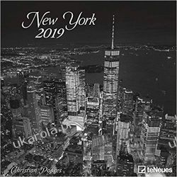 Kalendarz 2019 New York Calendar Photography Calendar 30 x 30 cm Książki i Komiksy