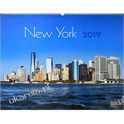 Kalendarz New York 2019 Calendar  Książki i Komiksy