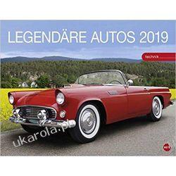 Kalendarz Samochody Legendary cars 2019 Calendar Książki i Komiksy