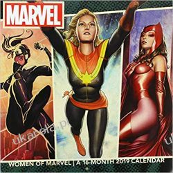 Kalendarz Kobiety z Marvela Women of Marvel 2019 Calendar