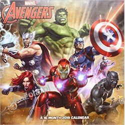Kalendarz Marvel Avengers 2019 Calendar