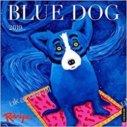 Kalendarz Blue Dog 2019 Wall Calendar