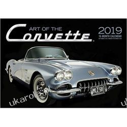 Kalendarz Samochody Art of the Corvette 2019 Calendar