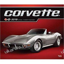 Kalendarz samochody Corvette 2019 Calendar