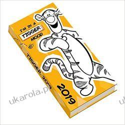 Kalendarz Książkowy Tygrysek Tigger Official 2019 Pocket Diary Calendar