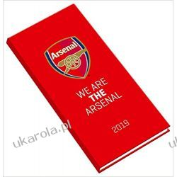 Kalendarz Książkowy Arsenal Official 2019 Pocket Diary Calendar