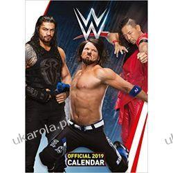 Kalendarz WWE World Wrestling Men Official 2019 Calendar