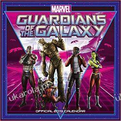 Kalendarz Strażnicy Galaktyki Guardians of The Galaxy Official 2019 Calendar