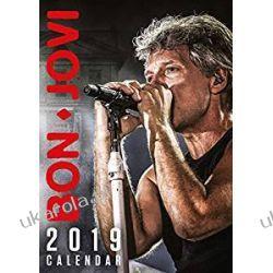 Kalendarz Bon Jovi Official 2019 Calendar  Kalendarze ścienne