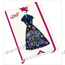 Kalendarz książkowy Mary Poppins Fashion A5 Official 2019 Diary