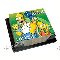 Kalendarz Biurkowy The Simpsons Desk Block 2019 Calendar