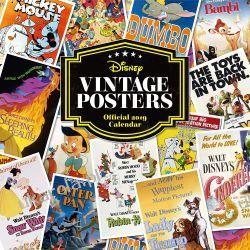 Kalendarz Disney Vintage Posters Official 2019 Calendar  Kościoły i inne budowle sakralne