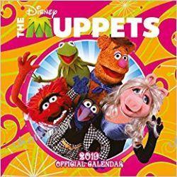 Kalendarz Mapety The Muppets Official 2019 Calendar
