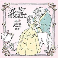 Kalendarz Piękna i Bestia Beauty And The Beast Official 2019 Calendar