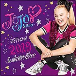 Kalendarz Jojo Siwa Official 2019 Calendar Pozostałe