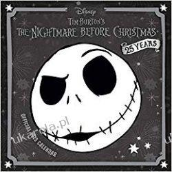 Kalendarz Miasteczko Halloween Nightmare Before Christmas Official 2019 Calendar Kalendarze ścienne