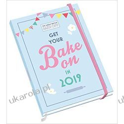 Kalendarz książkowy Great British Bake Off A5 Official 2019 Diary