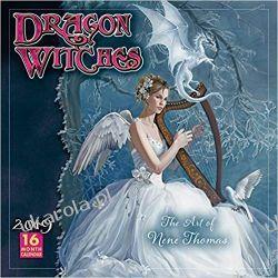 2019 Dragon Witches the Art of Nene Thomas 16-Month Wall Calendar Piłka nożna