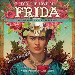 Kalendarz For the Love of Frida Kahlo 2019 Calendar Gadżety i akcesoria
