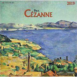 Kalendarz Paul Cezanne 2019 (FINE ARTS) Calendar Sztuka, malarstwo i rzeźba