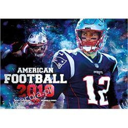 Kalendarz American Football 2019 NFL Calendar Książki i Komiksy