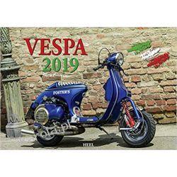 Kalendarz Vespa 2019 Calendar Pozostałe